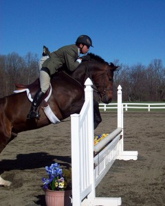 Avec un cavalier trop en avant, le cheval ne peut pas monter pleinement ses épaules.