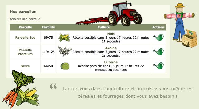 Lancez-vous dans l'agriculture !