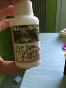 Une lotion contre les irritations : Bye Bye Itch Lotion
