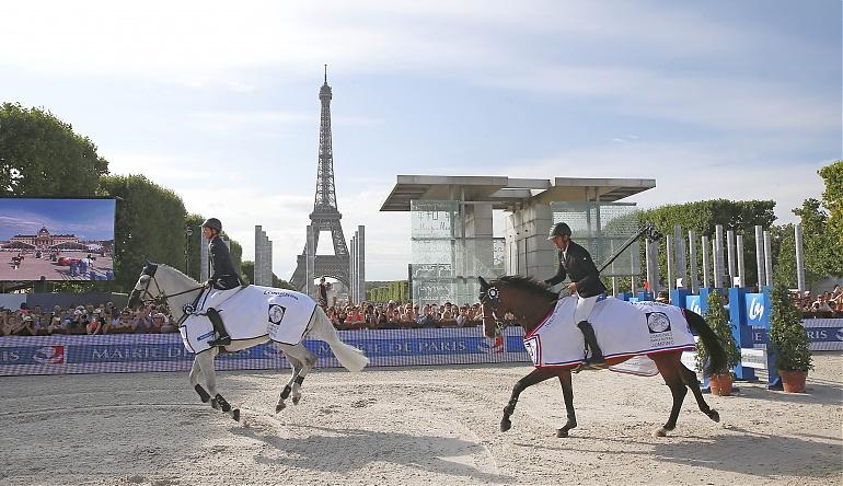 Remise des prix Paris Eiffel - ©Global Champions Tour