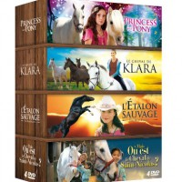 Cheval-Coffret-4-DVD-Princess-and-Pony-Le-cheval-de-Klara-Ltalon-sauvage-Le-cheval-de-St-Nicolas-0