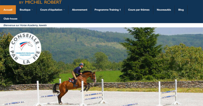 horse academy par michel robert