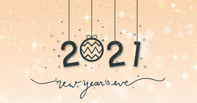 bonne année 2021 avec cheval partage