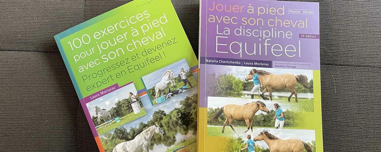 les livres d'equifeel de l'association equifeel partage